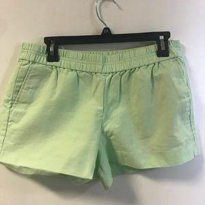 """Mint Green J Crew 3"""" Boardwalk Shorts"""